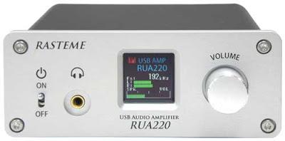 Rasteme RUA220 USB DAC et Amplificateur